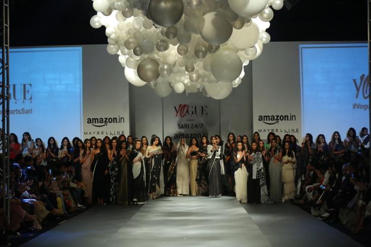Vogue India presents Sari 24x7